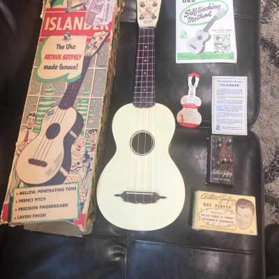 Maccaferri Islander Soprano Ukulele 1950's for sale