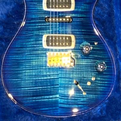 PRS Limited EXP Modern Eagle V (river blue burst) for sale