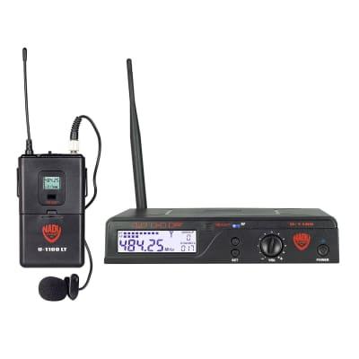 Nady U-1100-LT 100-Channel UHF Handheld Wireless Microphone System (A Band)