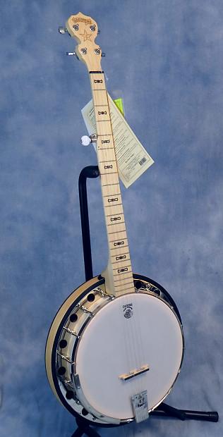 goodtime classic goodtime 2 5 string banjo w resonator reverb. Black Bedroom Furniture Sets. Home Design Ideas