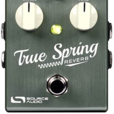 BRAND NEW RELEASE!!!  Source Audio True Spring Reverb/Tremolo - FREE SHIPPING!