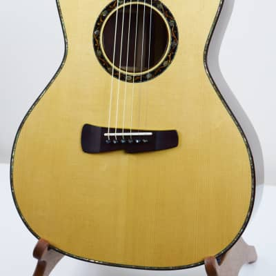 Kinscherff Troubadour Brazilian with Calton Case 2002 Natural for sale