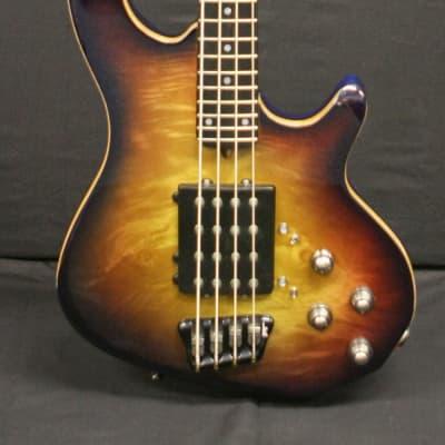 Enfield Cannon 4 string bass 2010 Cherry burst for sale