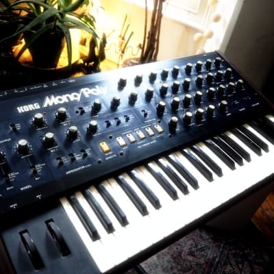 Korg Mono/Poly Analog Synthesizer, great condition with original manuals.