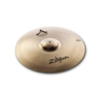 Zildjian 18 Inch A Custom Medium Crash Cymbal A20828  642388292297