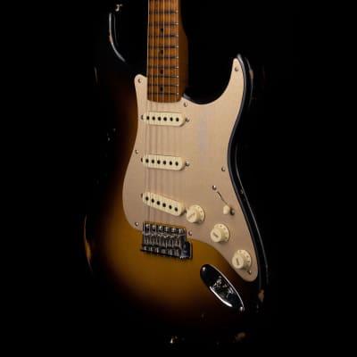 Fender Custom Shop 1956 Stratocaster Roasted 3A Birdseye Neck Relic 2-Tone Sunburst