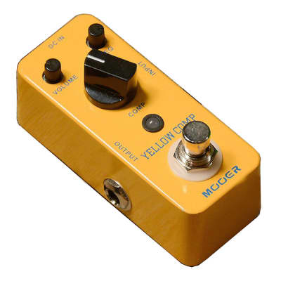 Mooer Yellow Comp Optical Compression Pedal True Bypass New in Box Free Shipping