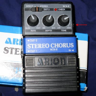 Arion SCH-Z Stereo Chorus Pedal for sale