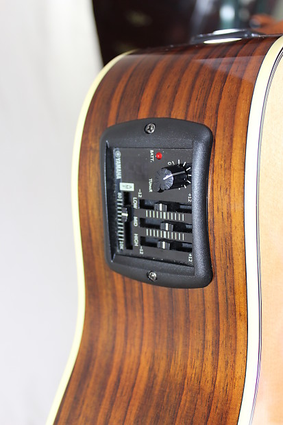 Yamaha Fgx730sc Dreadnought Acoustic Electric Reverb