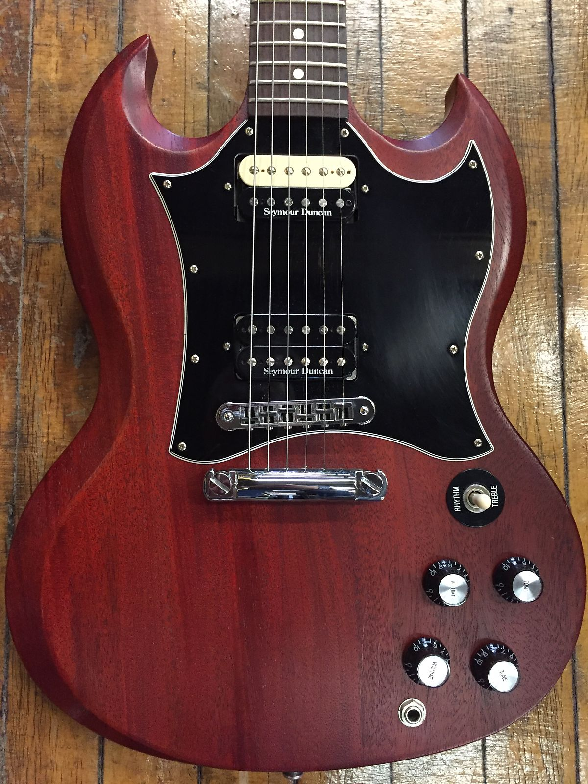 Gibson SG Special w/ Seymour Duncan Pearly Gates Pickups 2007 Worn Cherry
