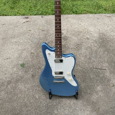 Michael Tuttle Custom Classic Baritone  2016 Ice Blue Metallic