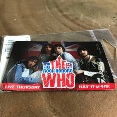 PikCard - The Who - USA made guitar picks that fit in your wallet!