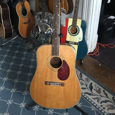 Old Kraftsman Acoustic Guitar 1960's Natural for sale