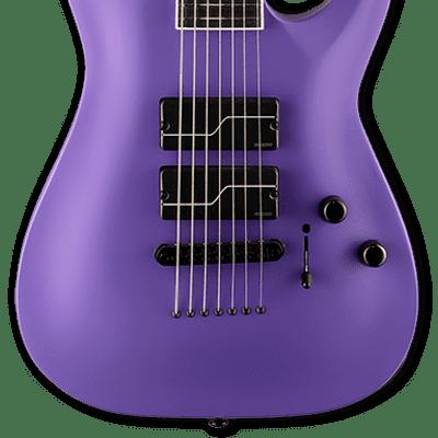 ESP LTD SC-607 BARITONE Purple Satin w/Case