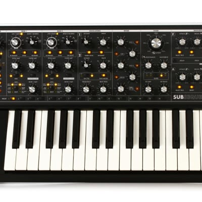 Moog Subsequent 37 Key Analog Synthesizer Mono & Duo Synth Keyboard Sub