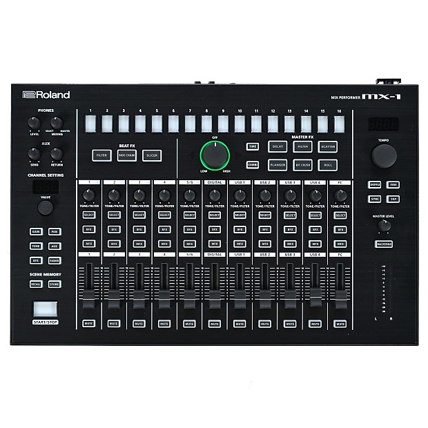 Roland Intros Aira Mx 1 Mix Performer The Nerve Center: Roland Aira MX-1 Mix Performer Control Surface