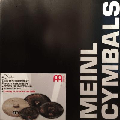 Meinl Byzance Mike Johnston Cymbal Set