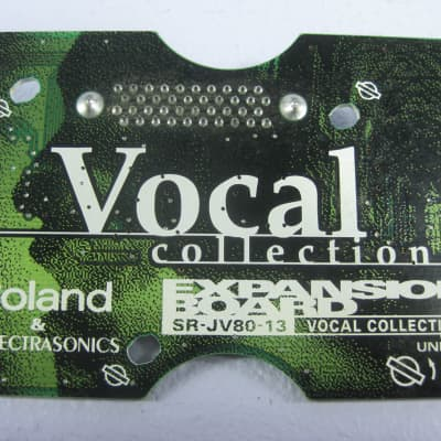 Roland SR-JV80-13 Vocal Collection Expansion Board