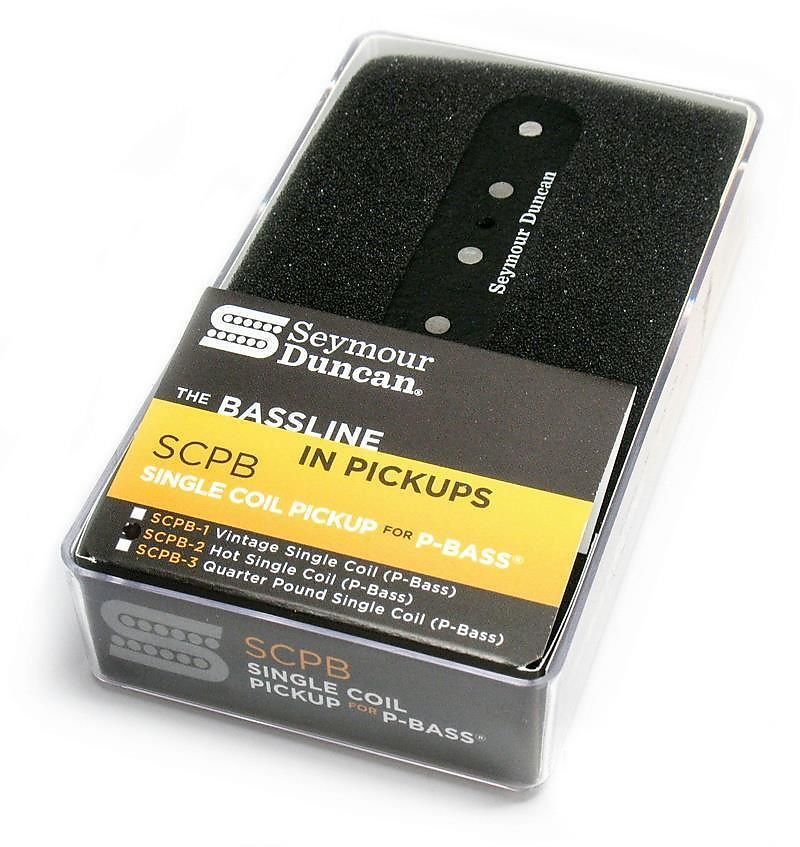 seymour duncan scpb 2 hot for p bass single coil pickup reverb. Black Bedroom Furniture Sets. Home Design Ideas