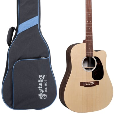 Martin DC-X2E Sitka Spruce and Macassar Acoustic-Electric