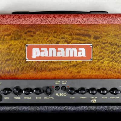 Fuego Hot Rod -18W- 3 Channel Tube Head- Sunburst Figured Mango