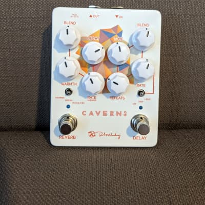 Keeley Caverns Delay Reverb V2 White