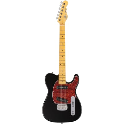G&L Tribute ASAT Special Guitar, Maple Neck and Fretboard, Gloss Black for sale