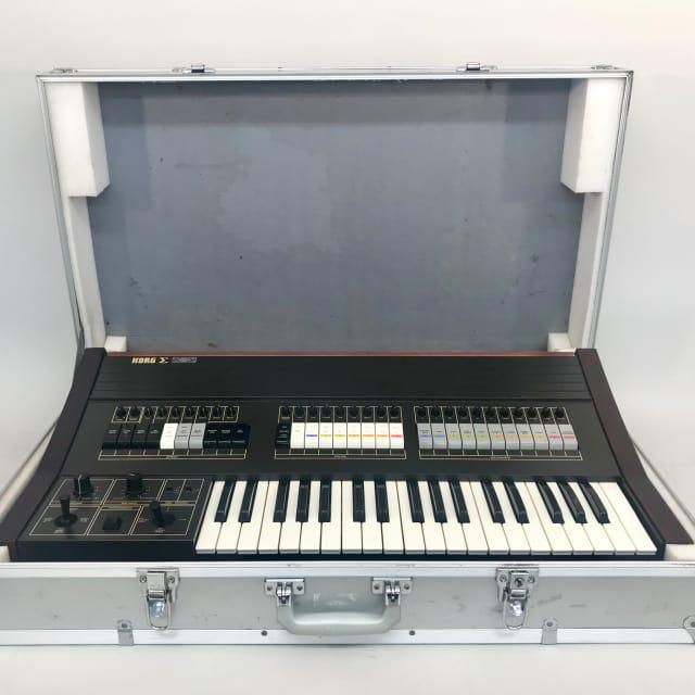 Very Rare : Vintage Analog KORG Sigma KP 30  Synthesizer  with Hard Flight Case image