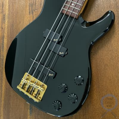 Fender Jazz Bass, Special, Active, P/J Pickups, Black, 1989 for sale