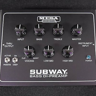 Mesa Boogie Subway Bass DI/Preamp FREE Shipping!