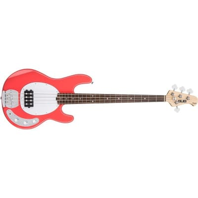 Sterling Ray4 Sub Bass, Fiesta Red for sale