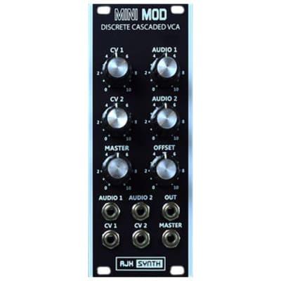 AJH Synth MiniMod Discrete Cascaded VCA - Black