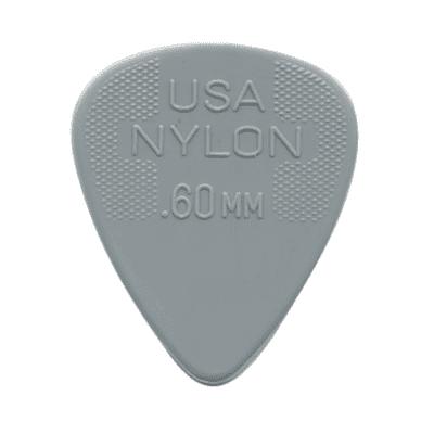 Dunlop 44R60 Nylon Standard .60mm Guitar Picks (72-Pack)