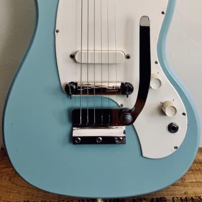 Kalamazoo KG-1 1960s Baby Blue for sale