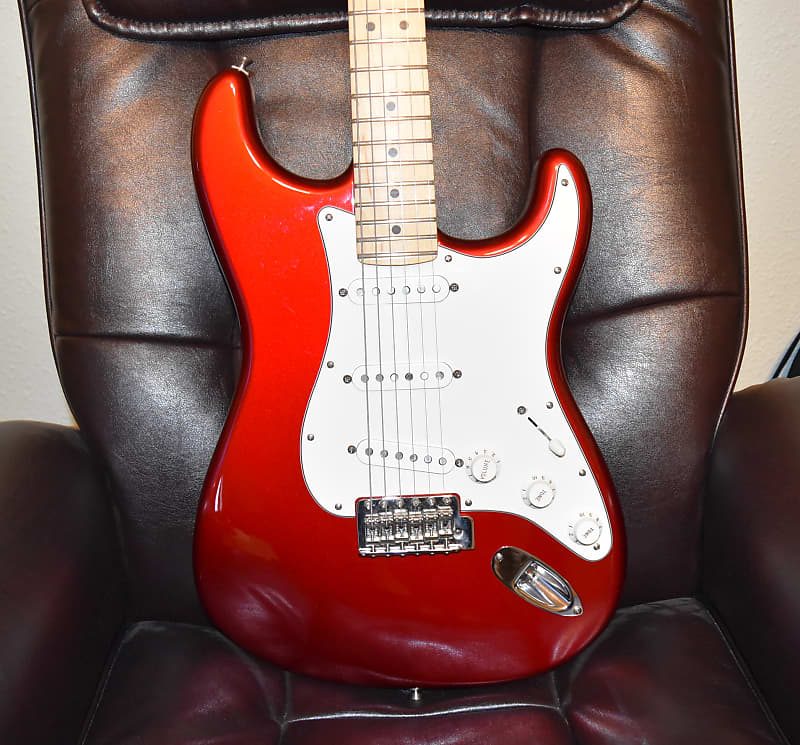 fender american special stratocaster 2015 candy apple red reverb. Black Bedroom Furniture Sets. Home Design Ideas