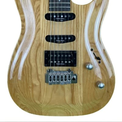 Brawley A122 Electric Guitar in Natural for sale