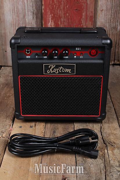 kustom kg1 2 0 electric guitar amplifier 10 watt 1 x 6 amp reverb. Black Bedroom Furniture Sets. Home Design Ideas