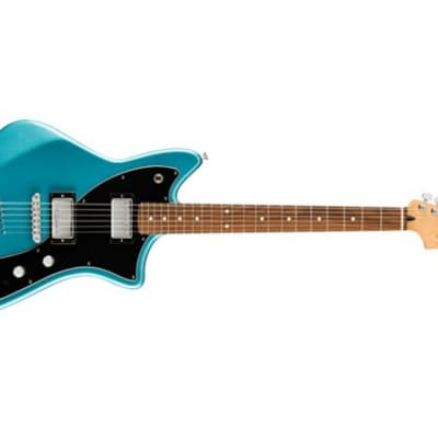Fender Limited Edition Alternate Reality Meteora HH Electric Guitar (Lake Placid Blue)