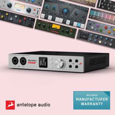 Antelope Audio Discrete 4 Synergy Core Thunderbolt / USB Audio Interface with Onboard DSP