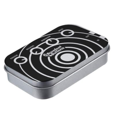 NEW BAREFOOT BUTTONS V1 - PEDALBOARD TIN -SONIC WAVE