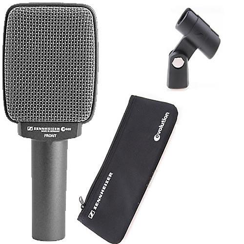 sennheiser e609 silver supercardioid dynamic guitar amp mic reverb. Black Bedroom Furniture Sets. Home Design Ideas