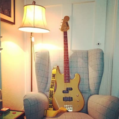 Hohner Falco Bass 1989 Gold for sale