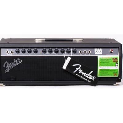 Fender FM 100H 2-Channel 100-Watt Solid State Guitar Amp Head 2005 - 2010