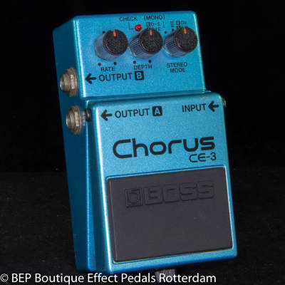 Boss CE-3 Chorus Ensemble 1986 s/n 678000 Japan as used by David Gilmour.