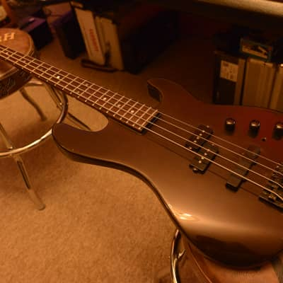 1986 Charvel Jackson Neck-Thru Through Model 3b Premium MIJ Japan Vintage PJ Precision Jazz Bass for sale