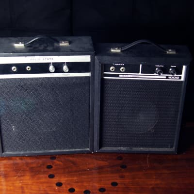 MuLtiVox P25 & SearS 100G Vintage SoLid-State Guitar Combo Amps   FreeUPS for sale
