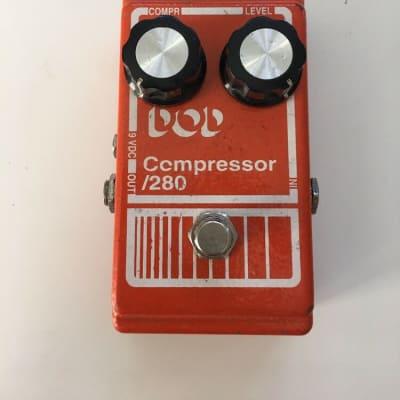 DOD Digitech 280 Compressor 90's Vintage Reissue Rare Guitar Effect Pedal