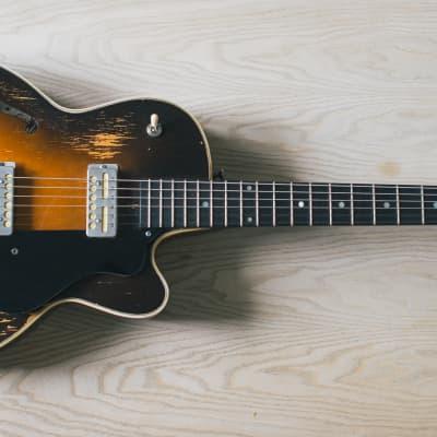 Guild M-65 Freshman 3/4th Sunburst 1965 for sale