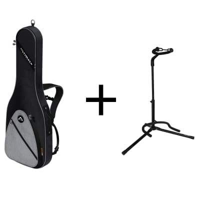 Ultimate Support BUNDLE - USS1-EG Soft Case and JS-TG101 Guitar Stand - Brand New