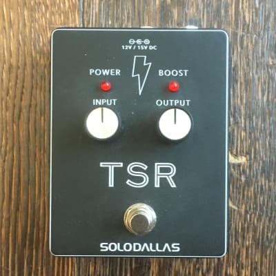 Used SoloDallas TSR Signal Booster Guitar Effect Pedal